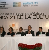 Mexico City hosted the 5th formal meeting of the Committee on Culture of UCLG in november 2010.