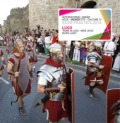 Rome in Lugo. ARDE LVCVS